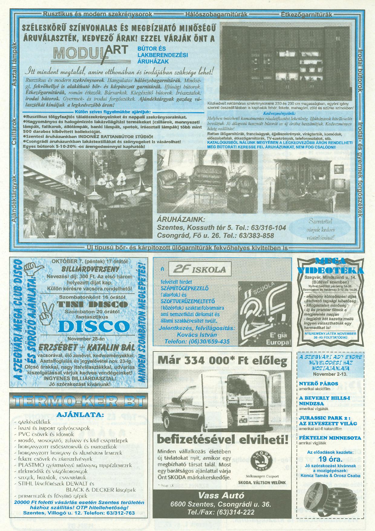 042 Tuti Tipp reklámújság - 19971101-073. lapszám - 2.oldal - III. évfolyam.jpg