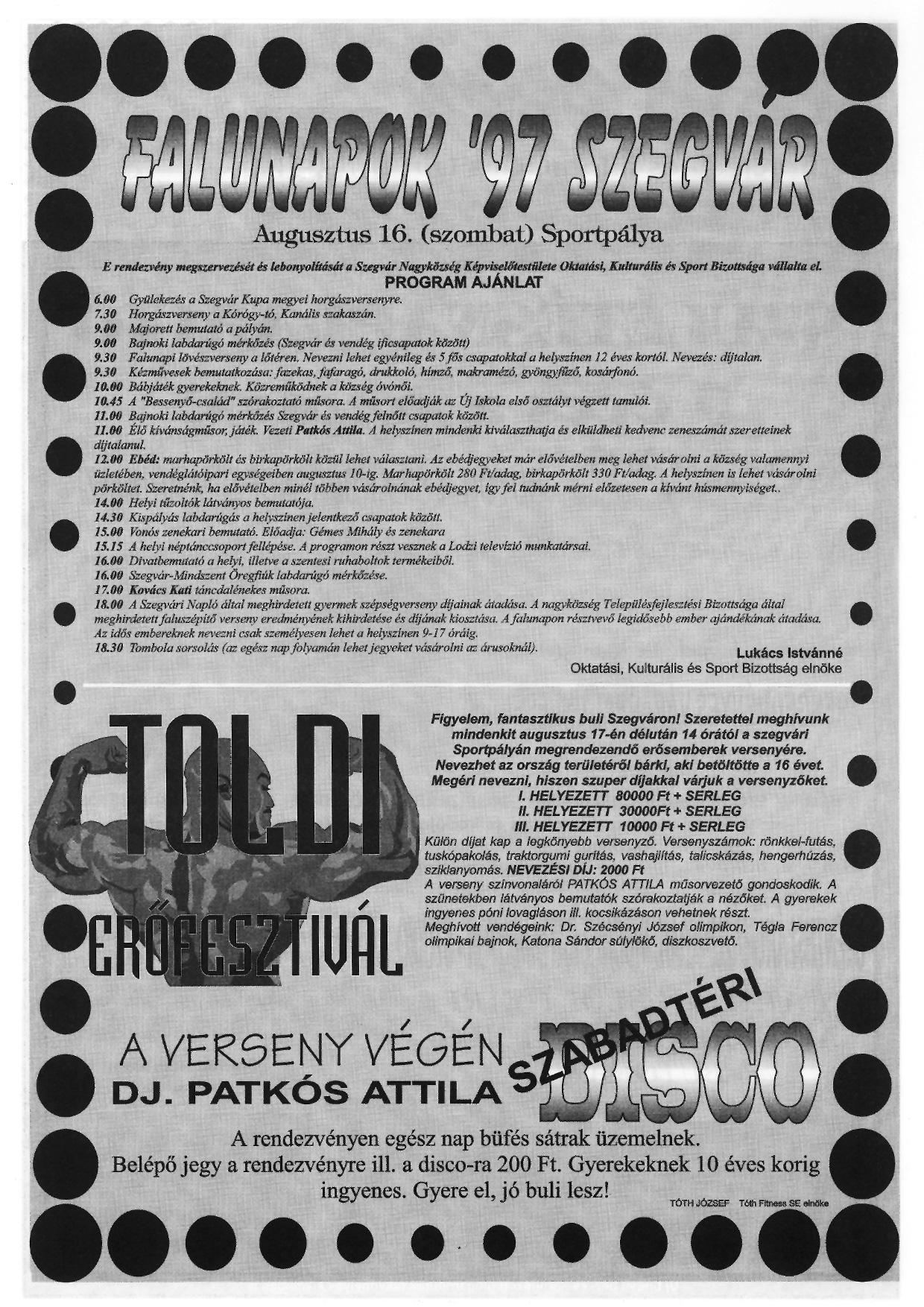 028 Tuti Tipp reklámújság - 19970809-067. lapszám - 2.oldal - III. évfolyam.jpg