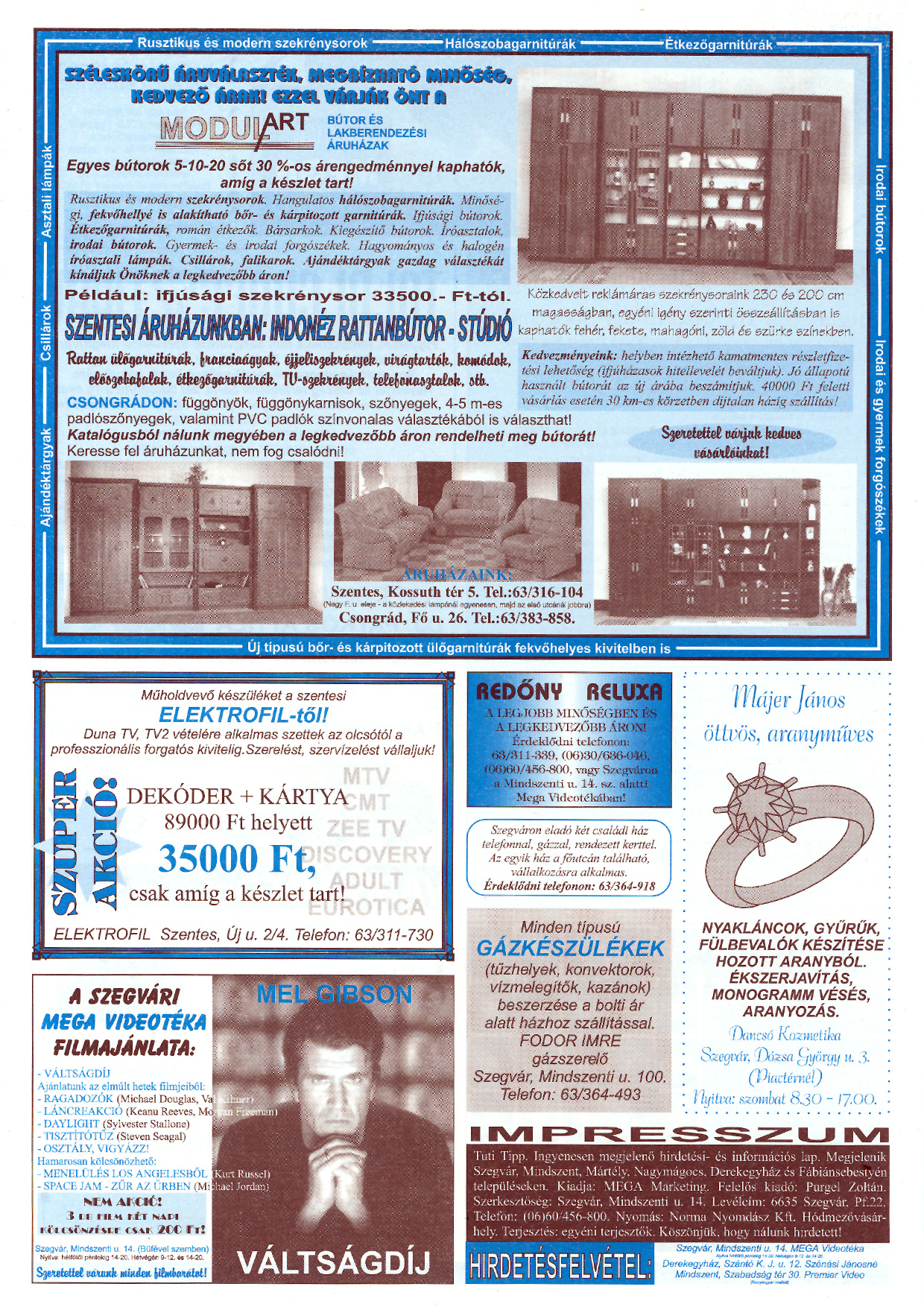 026 Tuti Tipp reklámújság - 19970726-066. lapszám - 2.oldal - III. évfolyam.jpg