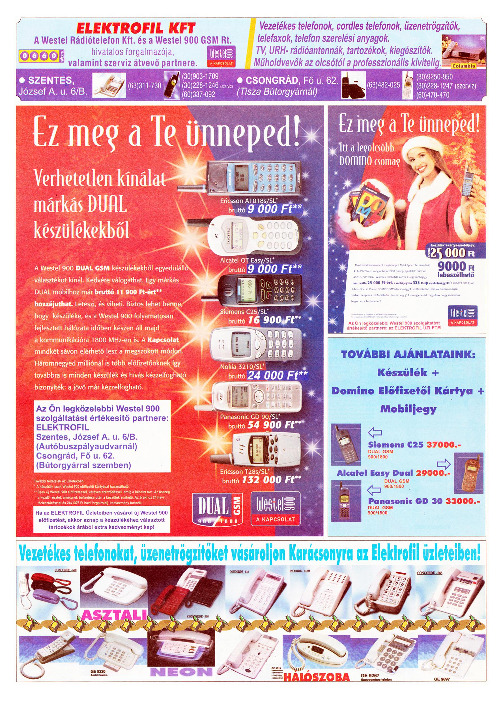 082 Tuti Tipp Extra reklámújság - 19991218-026. lapszám - 4.oldal - V. évfolyam.jpg