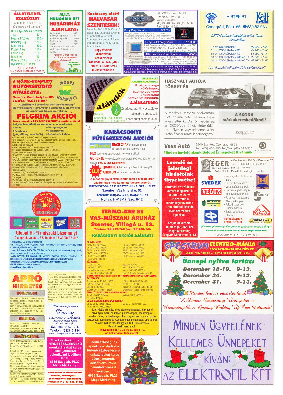080 Tuti Tipp Extra reklámújság - 19991218-026. lapszám - 2.oldal - V. évfolyam.jpg