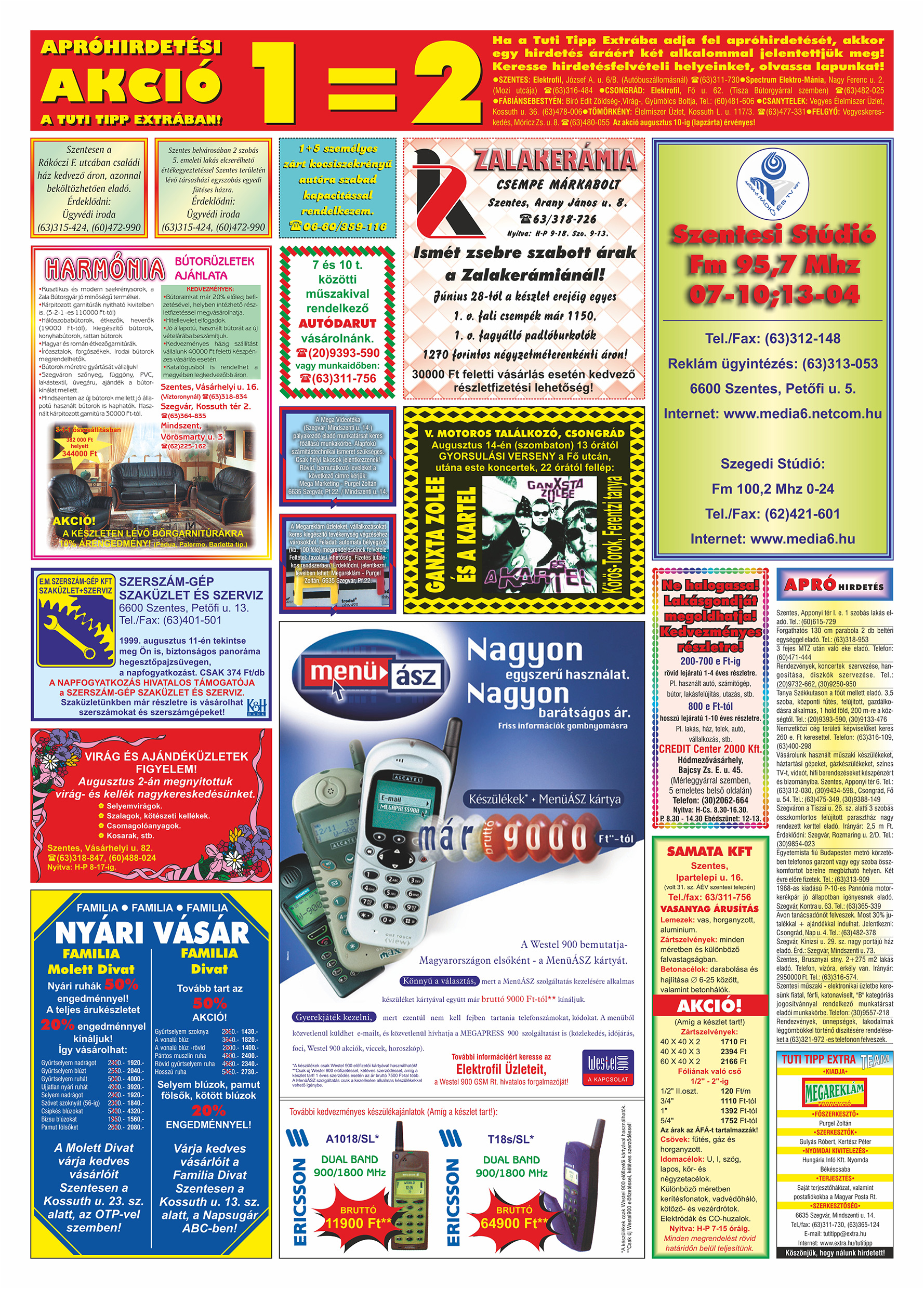 040 Tuti Tipp Extra reklámújság - 19990807-007. lapszám - 2.oldal - V. évfolyam.jpg