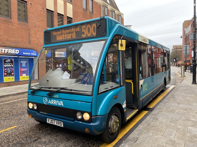 Arriva The Shires (Midlands) 2479 (YJ07 VRD)