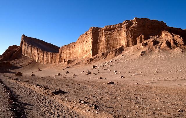 The Atacama Moon Valley Amphitheater, Chile
