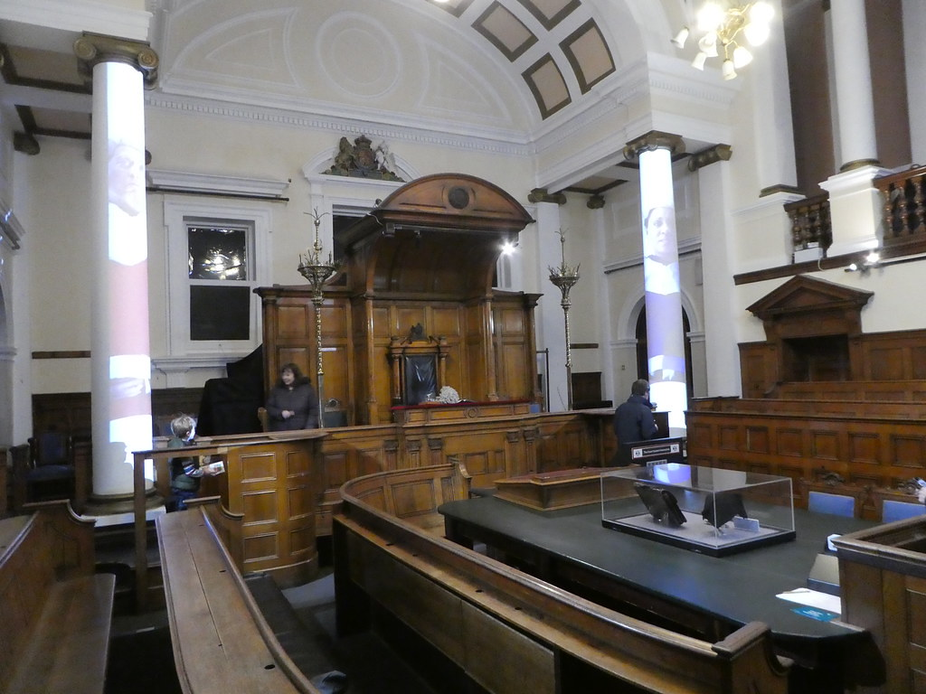 Victorian courtroom, National Museum of Justice, Nottingham