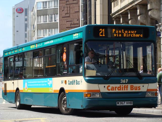 Cardiff Bus 367 W367VHB