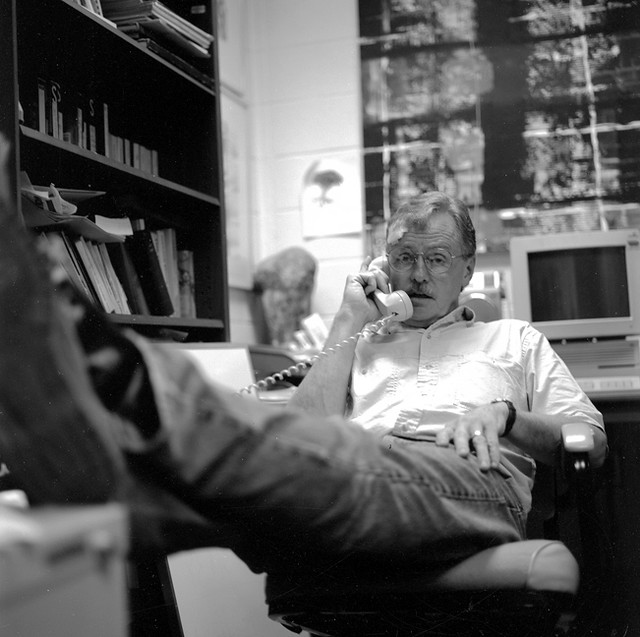 Tommy in his office May 1994
