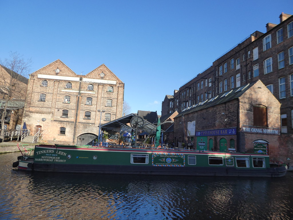 Nottingham waterfront