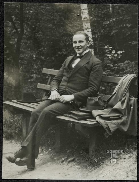 ArchivTappen2AAl2d520 Portrait, Kommilitone, Fotoalbum, 1900-1930er