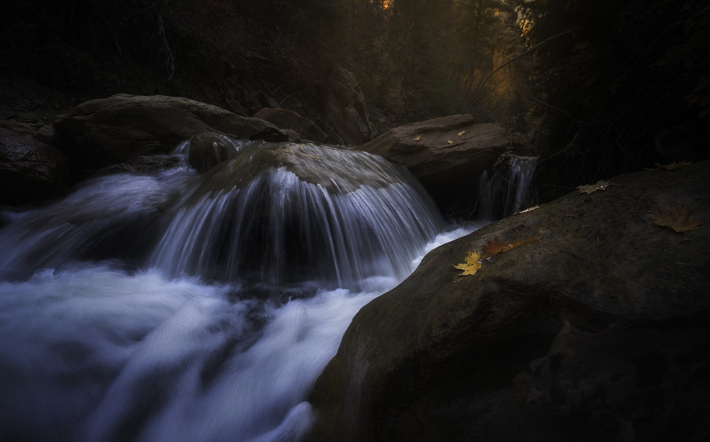 Small waterfall in Zion