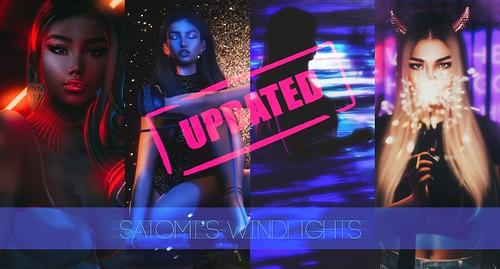 Satomi's Windlights (2016-2019) Information post!