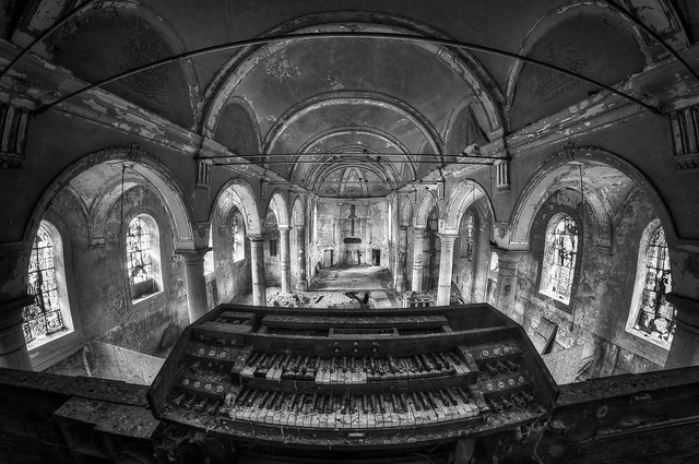 Gravestone Church VII