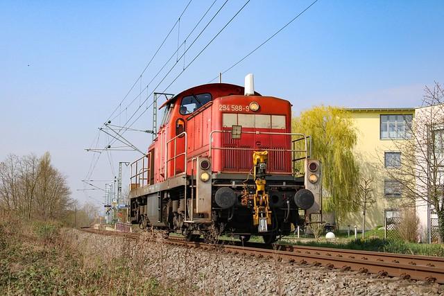 Solo V90 auf der Gartenbahn