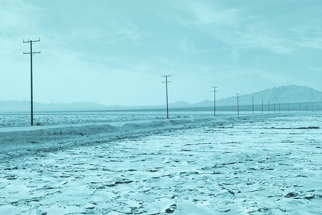 sodium chloride. mojave desert, ca. 1999.