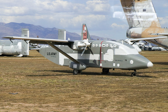 88-1869 - Short C-23B Sherpa - KDMA/AMARG 14th May 2019.