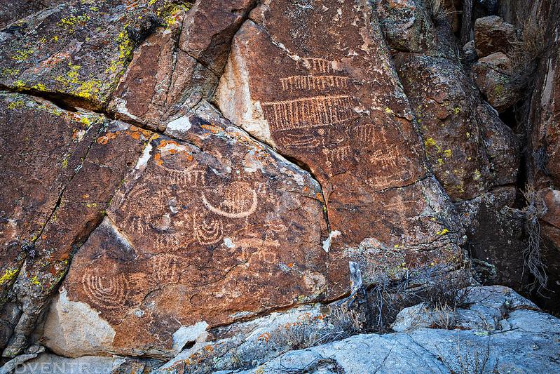 Upper Petroglyph Wall