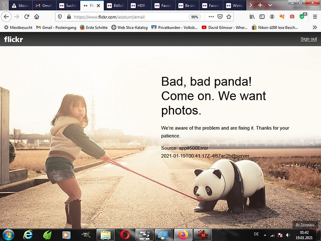 Neues Jahr ,neues Glück .... Pöser-Panda-19-Januar 2021 - 01:47 Uhr
