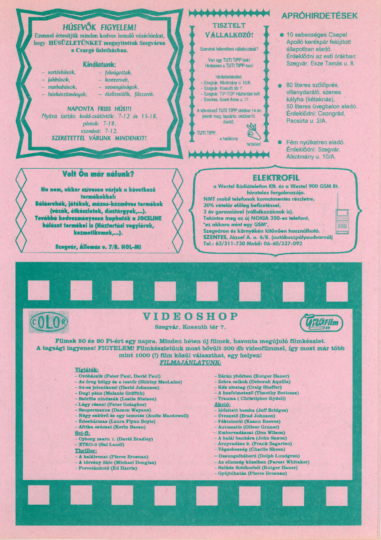 009 Tuti Tipp reklámújság - 19950930-004. lapszám -3.oldal - I. évfolyam.jpg