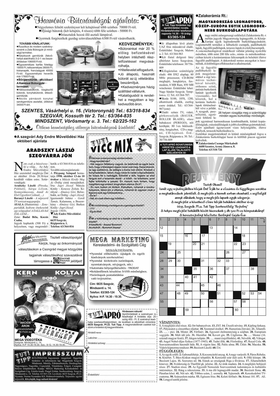 048 Tuti Tipp reklámújság különszám - 19981003-094+004. lapszám - 4.oldal - IV. évfolyam.jpg