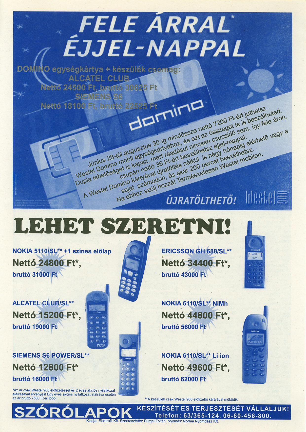 035 Tuti Tipp reklámújság - 19980801-091. lapszám - 3.oldal - IV. évfolyam.jpg