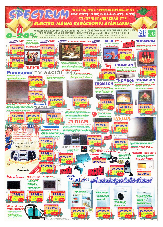 081 Tuti Tipp Extra reklámújság - 19991218-026. lapszám - 3.oldal - V. évfolyam.jpg