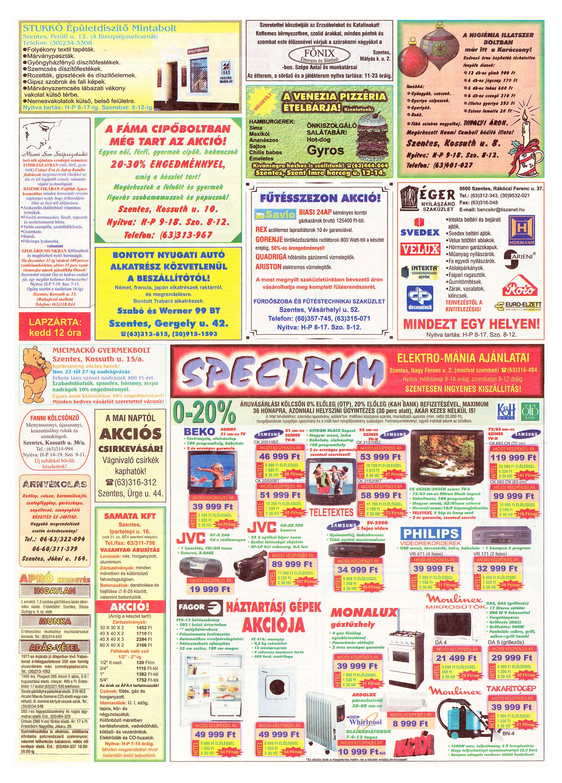 072 Tuti Tipp Extra reklámújság - 19991120-022. lapszám - 2.oldal - V. évfolyam.jpg
