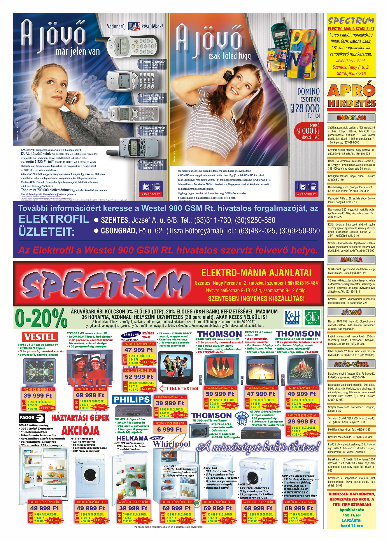 052 Tuti Tipp Extra reklámújság - 19990918-013. lapszám - 2.oldal - V. évfolyam.jpg