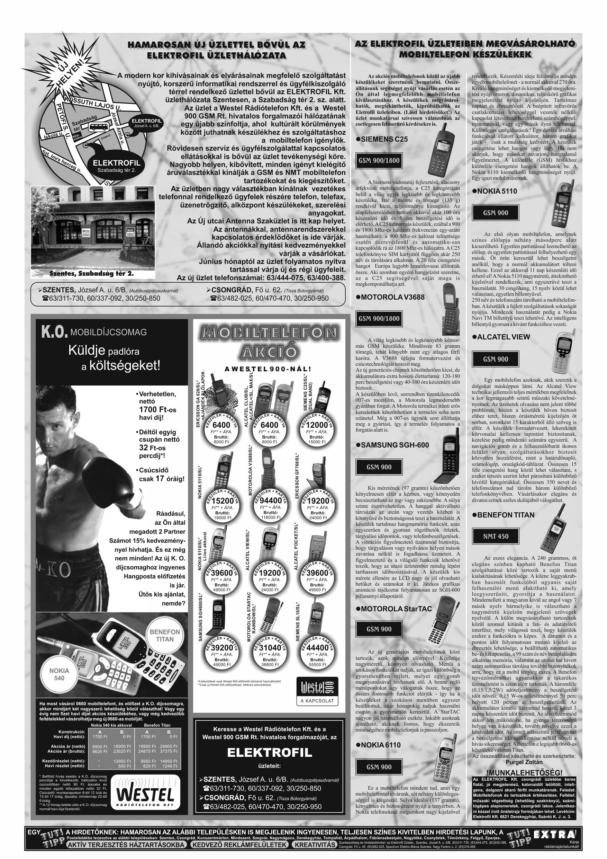 017 Tuti Tipp reklámújság különszám - 19990508-120. lapszám - 3.oldal - V. évfolyam.jpg