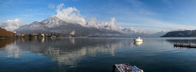 Annecy en hiver