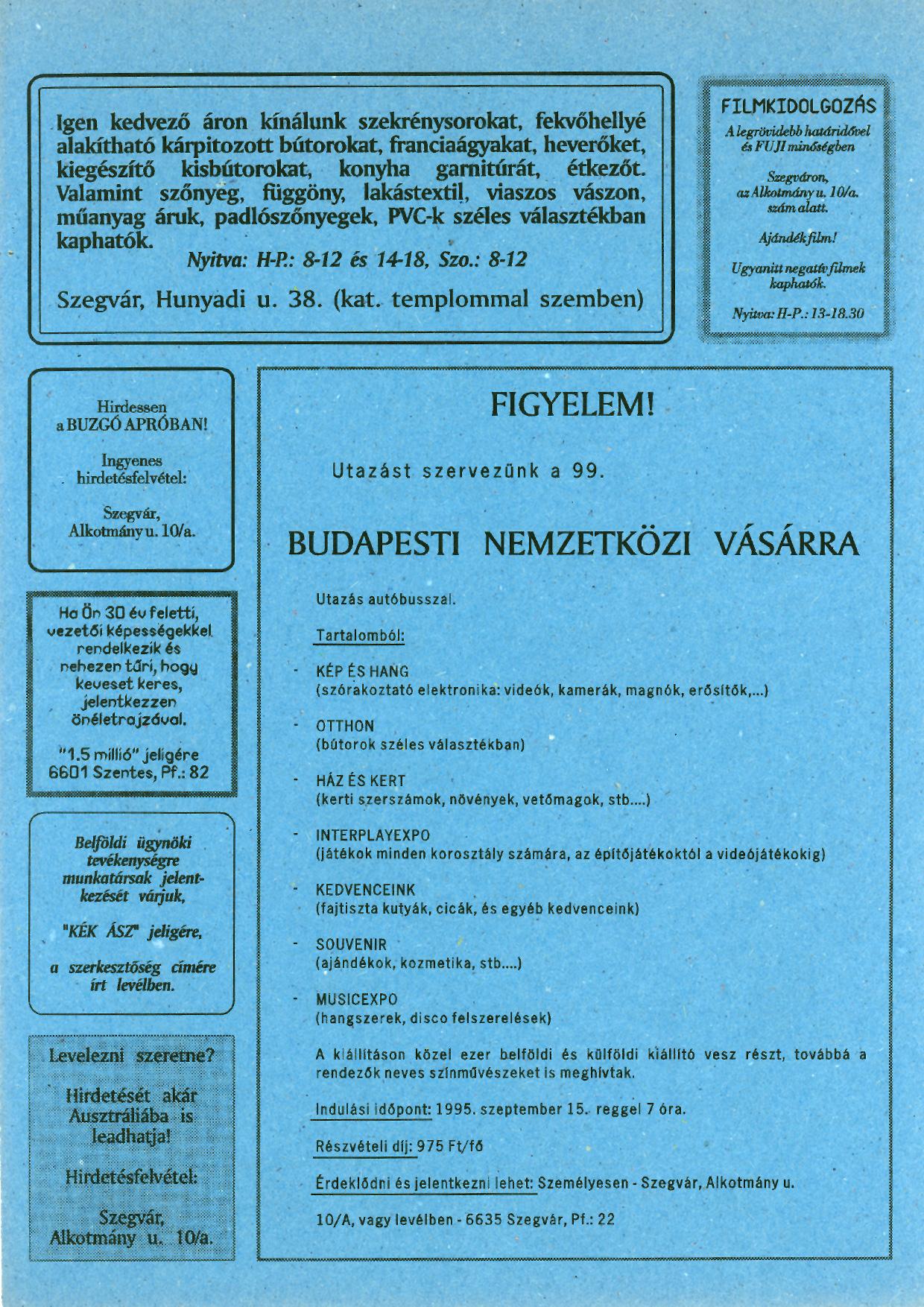 002 Tuti Tipp reklámújság - 19950818-001. lapszám -2.oldal - I. évfolyam.jpg