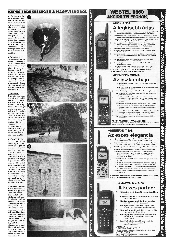 058 Tuti Tipp reklámújság különszám - 19981205-099+009. lapszám - 2.oldal - IV. évfolyam.jpg