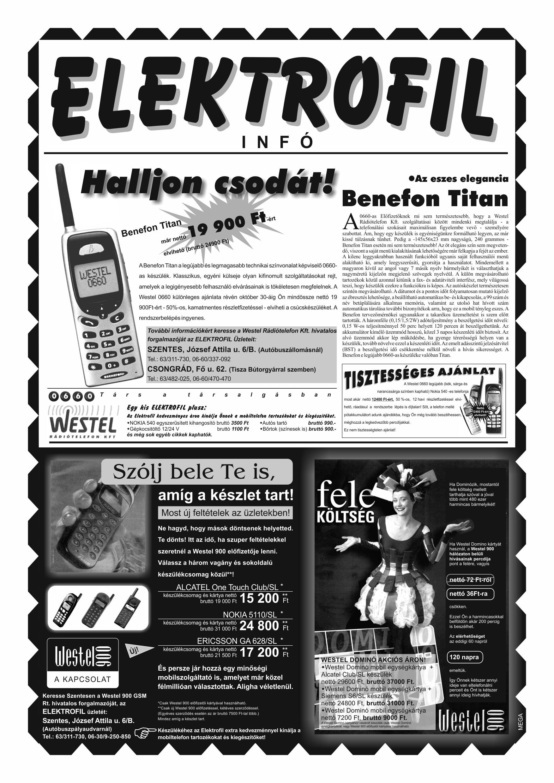 047 Tuti Tipp reklámújság különszám - 19981003-094+004. lapszám - 3.oldal - IV. évfolyam.jpg