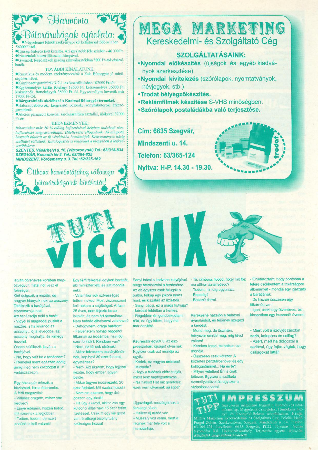 042 Tuti Tipp reklámújság - 19980919-003. lapszám - 2.oldal - IV. évfolyam.jpg