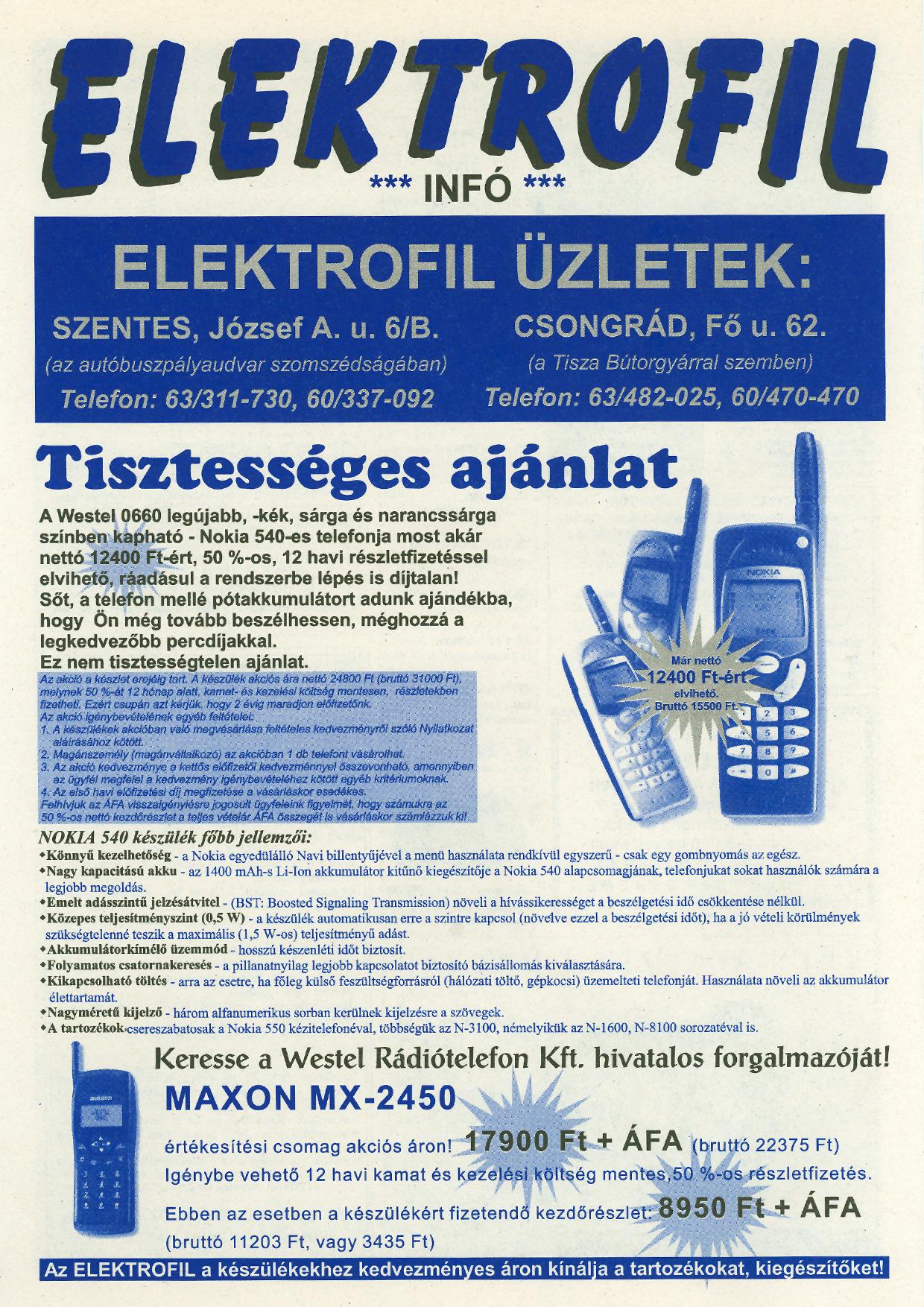 034 Tuti Tipp reklámújság - 19980801-091. lapszám - 2.oldal - IV. évfolyam.jpg