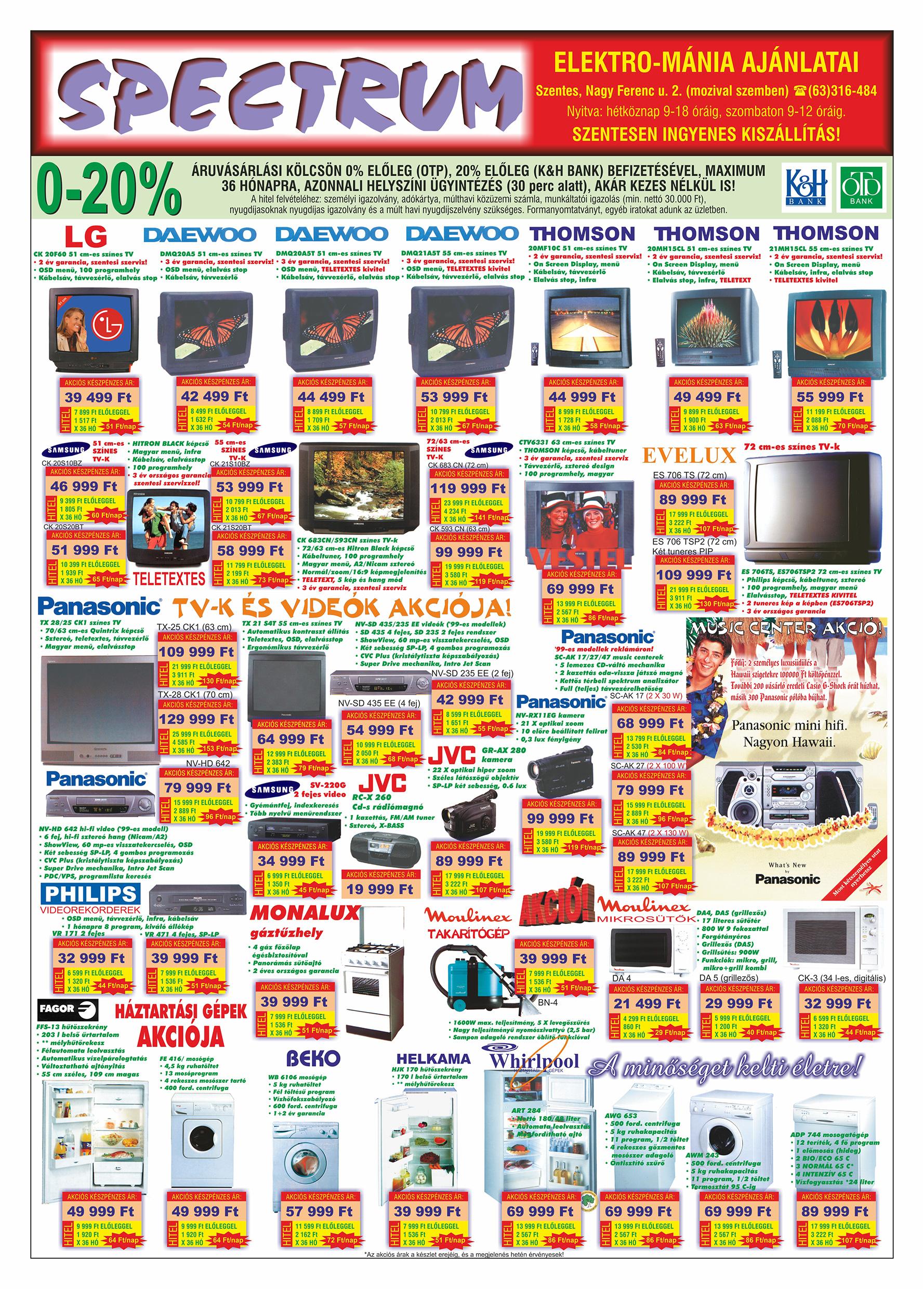 070 Tuti Tipp Extra reklámújság - 19991113-021. lapszám - 4.oldal - V. évfolyam.jpg