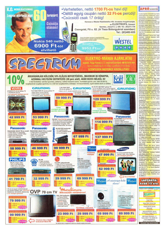 034 Tuti Tipp Extra reklámújság - 19990717-004. lapszám - 2.oldal - V. évfolyam.jpg