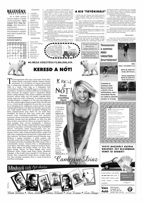 018 Tuti Tipp reklámújság különszám - 19990508-120. lapszám - 4.oldal - V. évfolyam.jpg