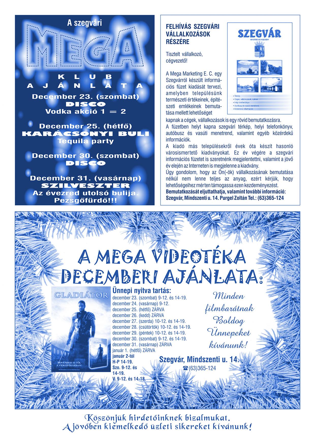 026 Tuti Tipp reklámújság - 200012-136. lapszám - 2.oldal - VI. évfolyam.jpg