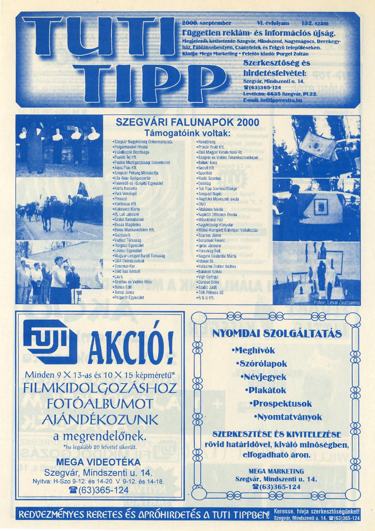 017 Tuti Tipp reklámújság - 200009-132. lapszám - 1.oldal - VI. évfolyam.jpg