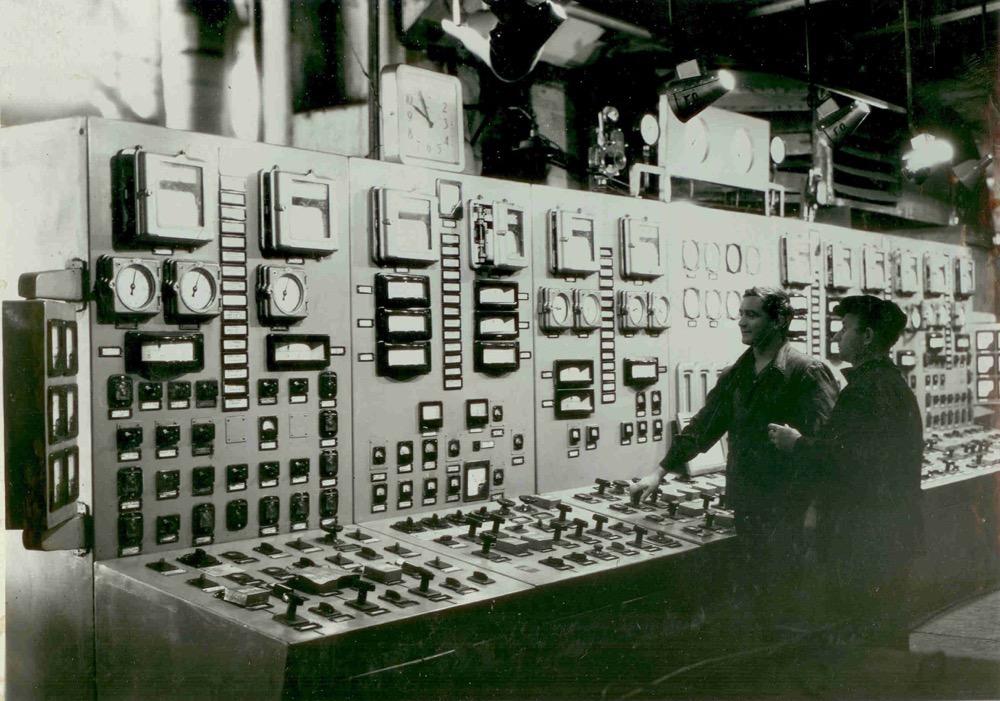 6 Главный щит управления Райчихинской ГРЭС