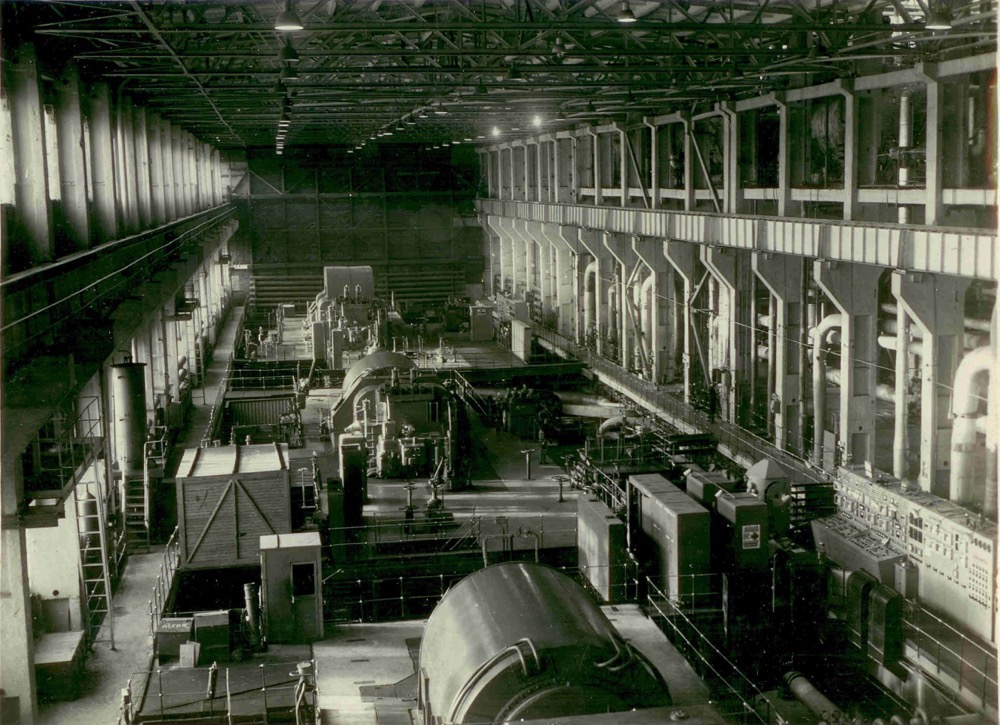4 Турбинный цех очереди высокого давления. 1970 г.