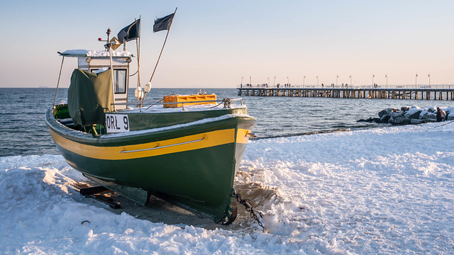 Gdynia Orlowo pier