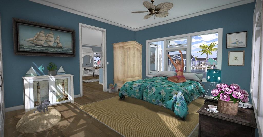Sunkissed Cottage Bedroom