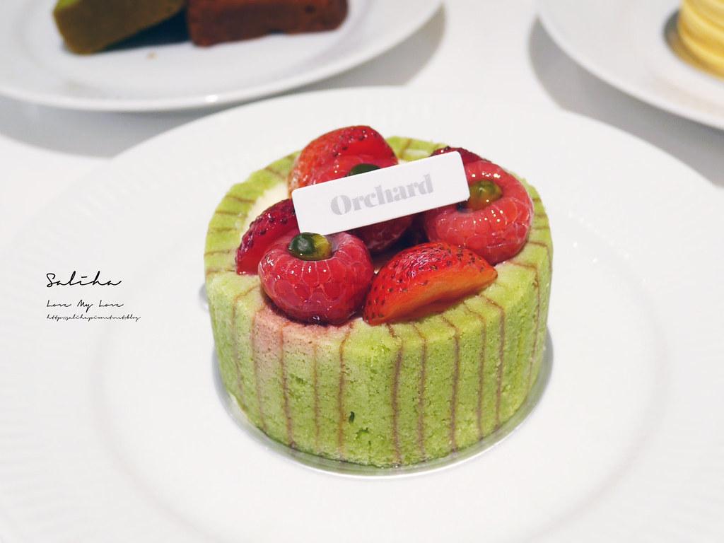 台北甜點推薦Orchard Taipei永康街咖啡廳下午茶ig甜點大安區美食 (5)