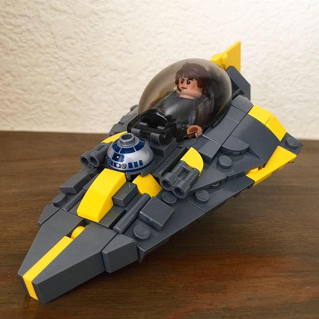 Lego Anakin's Chibi Jedi Starfighter