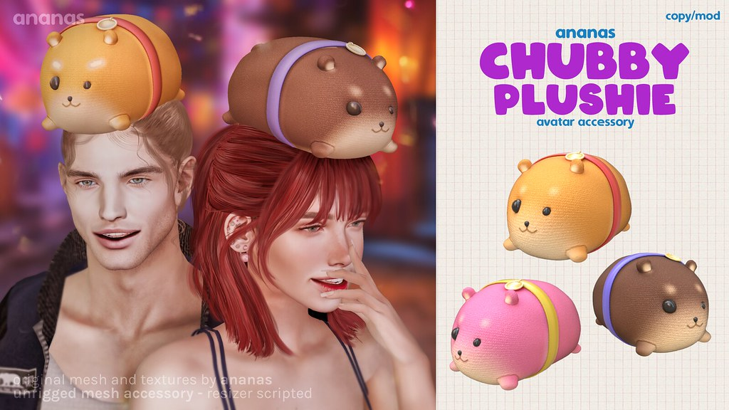 Relive Your Childhood With Ananas' Newest Release, Chubby Plushie!