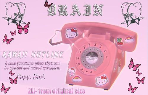 DRAIN: Kawaii Hotline Gift