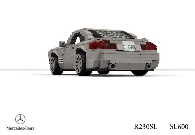 Mercedes-Benz R230SL SL600 Roadster (2003)