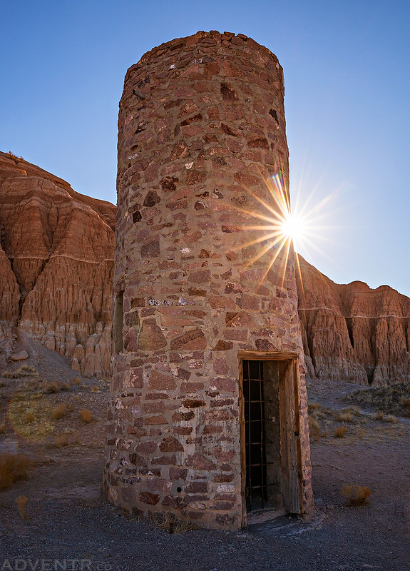 Cathedral Gorge Water Tower