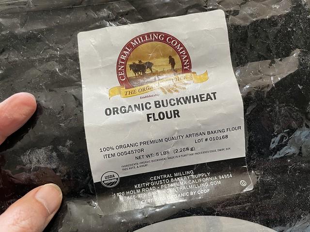 Ran out of buckwheat flour